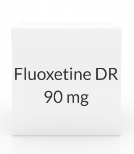 Fluoxetine DR 90 mg Capsules (Generic Prozac Weekly) - 4 Capsule Pack