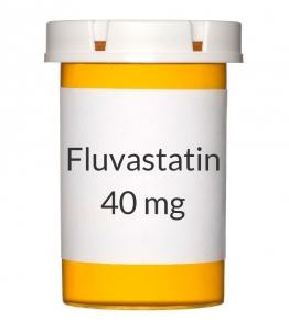 Fluvastatin 40mg Capsules