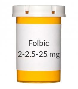 Folbic 2-2.5-25mg Tablets