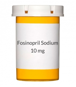 Fosinopril Sodium 10mg Tablets (Generic Monopril)