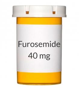Furosemide 40mg Tablets