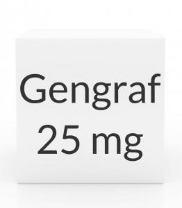 Gengraf 25mg Capsules - 30 Capsule Box