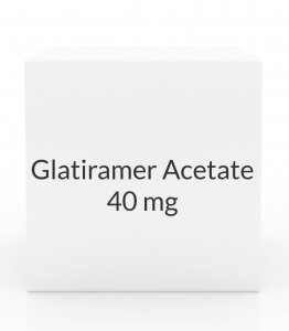 Glatiramer Acetate 40mg/ml Syringe - 12 syringes