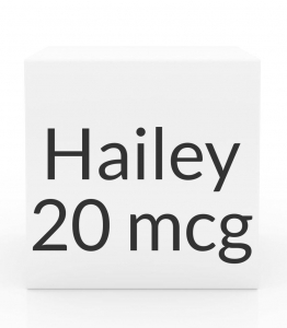 Hailey 24 FE 1-mg-20mcg Tablets- 28 Pack