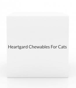 Heartgard Chewables For Cats 5-15 lbs-6 Count Box(Purple)