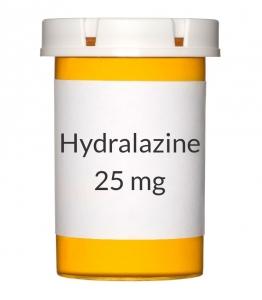Hydralazine 25mg Tablets