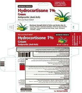 Hydrocort 1% Cream with Aloe