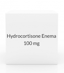 Hydrocortisone Enema 100mg/60ml (7 Enema Box)