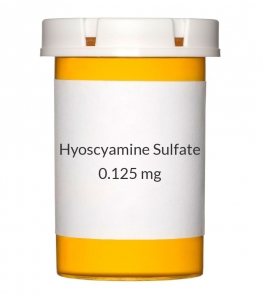 Hyoscyamine Sulfate 0.125 mg Orally Dispersable Tablets