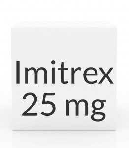 Imitrex (Sumatriptan) 25mg Tablets- 9 Tablet Pack