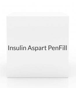 Insulin Aspart PenFill 100/ml 5x3 Cartridges/Box (Novalog PenFill)