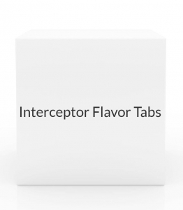 Interceptor Flavor Tabs (for Dogs 51-100 lbs or Cats 12.1-25 lbs) - 6 Month Pack - Vet Rx