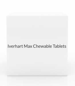 Iverhart Max Chewable Tablets (For Dogs 25.1-50 lbs) - 6 Month Pack(Green)