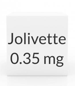 Jolivette 0.35mg Tablets - 28 Tablet Pack