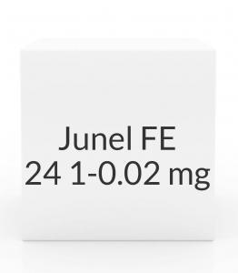 Junel FE 24 1-0.02mg Tablets- 28 Tablet Pack