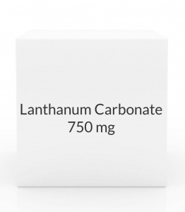 Lanthanum Carbonate 750mg  Chew Tablets (Prasco)