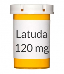 Latuda 120mg Tablets - 30 Count Bottle