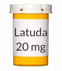 Latuda 20mg Tablets - 30 Count Bottle