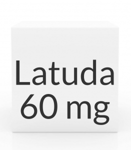 Latuda 60mg Tablets - 30 Count Bottle