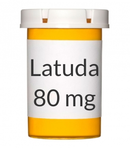 Latuda 80mg Tablets - 30 Count Bottle