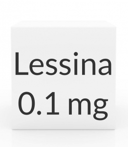 Lessina 0.1mg-0.02mg Tablets - 28 Tablet Pack