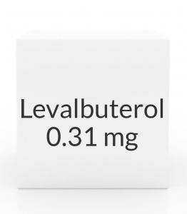Levalbuterol 0.31mg/3ml Inhalation Solution -24 Vial Box (Prasco)
