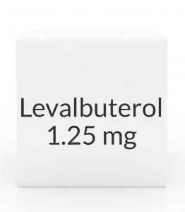 Levalbuterol 1.25mg/3ml Inhalation Solution- 24 Vial Pack (Prasco)