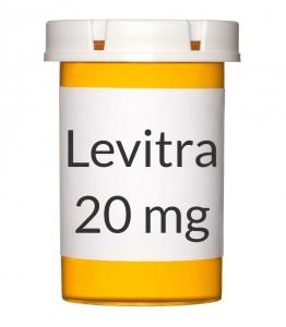 Levitra 20 mg Tablets