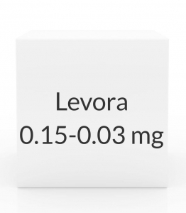 Levora 0.15-0.03mg - 28 Tablet Pack