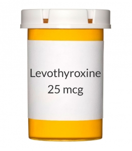 Levothyroxine 25mcg Tablets