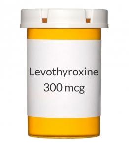 Levothyroxine 300mcg Tablets