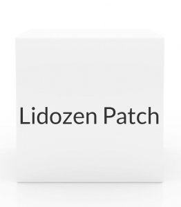 Lidozen Patch 4-1% Patches- Box of 30