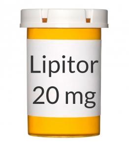 Lipitor 20mg Tablets