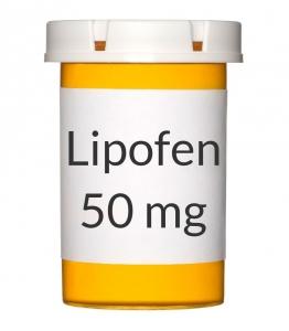 Lipofen 50mg Capsules