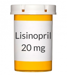Lisinopril 20mg Tablets