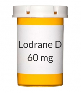 Lodrane D 4/60mg Capsules***PRODUCT SHORTAGE ESTIMATED RESTOCKING DATE IS LATE JULY 2015****