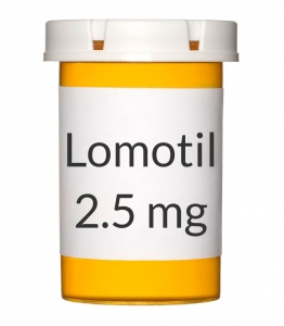 Lomotil 2.5mg Tablets