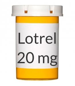 Lotrel 5-20mg Capsules