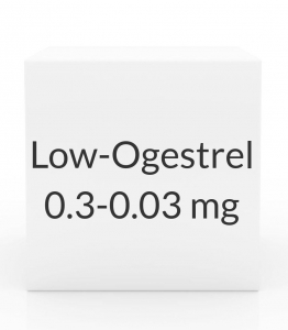 Low-Ogestrel 0.3-0.03mg - 28 Tablet Pack