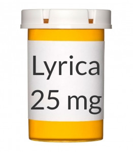 Lyrica 25mg Capsules