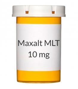 Maxalt MLT 10mg Orally Disintegrating Tablets