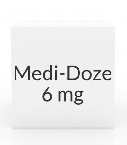 Medi-Doze 6mg-30mg-50mg Capsules- 30ct Bottle