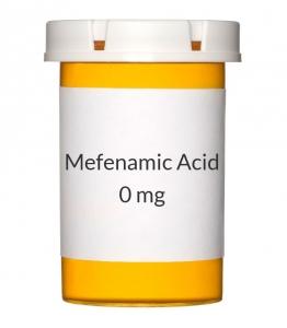 Mefenamic Acid 25 0mg Capsules