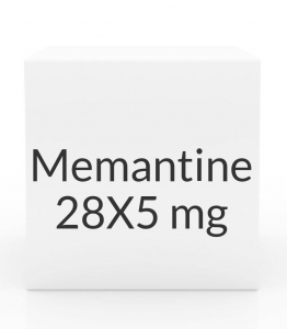 Memantine 49 Tablet Titration Pack - (28X5mg - 21X10mg)