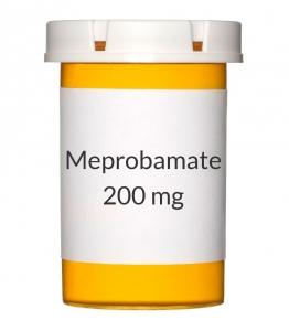 Meprobamate 200mg Tablets
