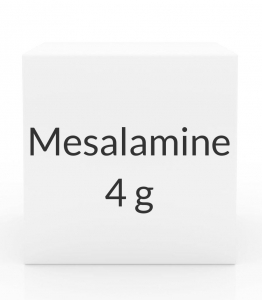 Mesalamine 4g/60ml Rectal Suspension (28 Enema Box)