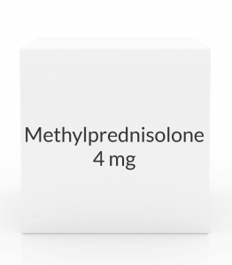 Methylprednisolone 4mg Dose Pak- 21 Tablets (Greenstone)