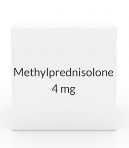 Methylprednisolone 4mg Dose Pak (21 Tablets)