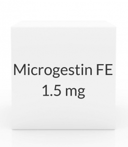 Microgestin FE 1.5mg/30mcg - 28 Tablet Pack