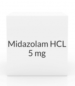 Midazolam HCL 5mg/ml Injection- 1ml Vial
